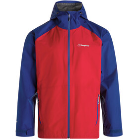 Berghaus Paclite 2.0 Shell Jacket Men haute red/sodalite blue